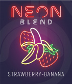 Neon Banana Strawberry (Клубника и Банан)